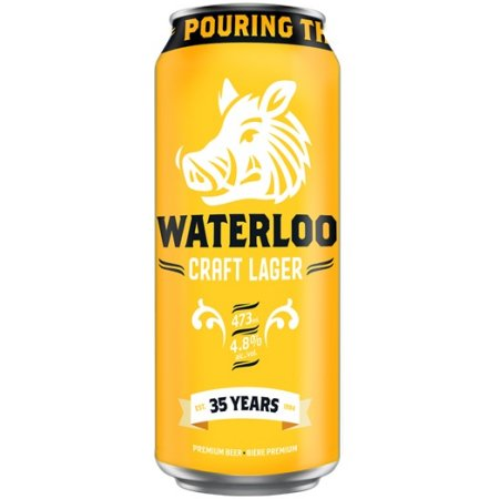 Waterloo Brewing Celebrates 35th Anniversary with Waterloo Craft Lager