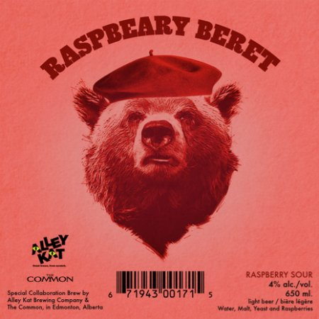 Alley Kat Brewing Releasing RaspBeary Beret Sour and A Fistful of Porters