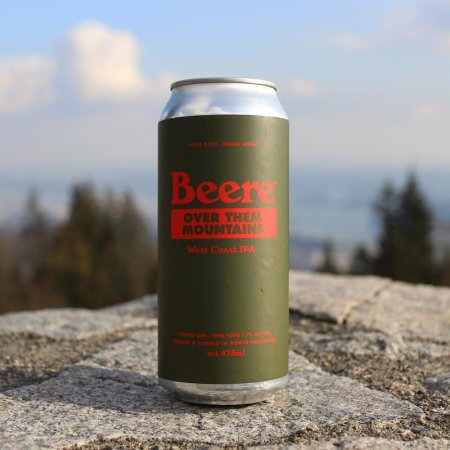 Beere Brewing Releases Over Them Mountains IPA