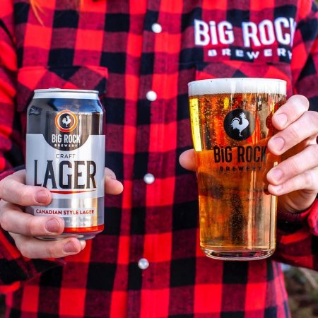 Big Rock Brewery Launches Canadian Style Craft Lager