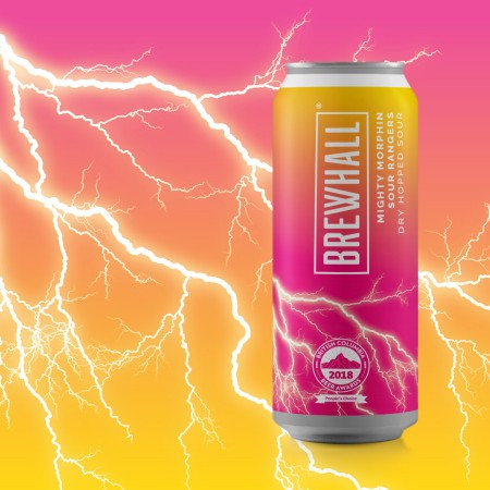 BREWHALL Releasing Cans of Mighty Morphin Sour Rangers Dry Hopped Sour
