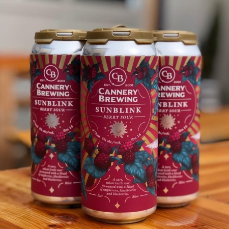 Cannery Brewing Releases Sunblink Berry Sour
