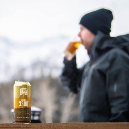 Fernie Brewing Launching 3300 Golden Ale