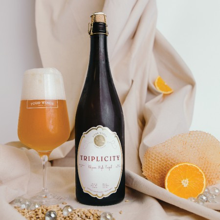 Four Winds Brewing Releases 2019 Vintage of Triplicity Belgian-Style Tripel