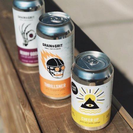 Grain & Grit Beer Co. Releases Trio of New Beers