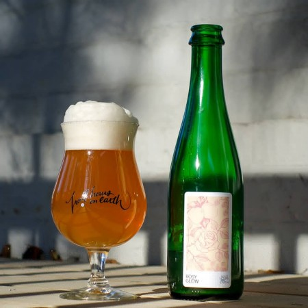 Half Hours on Earth Releases Rosy Glow Farmhouse Sour & Holding Vintage Bottle Tasting for 3rd Anniversary