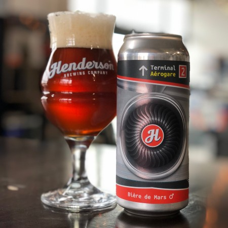 Henderson Brewing Monthly Ides Series Continues with Terminal 2 Bière de Mars