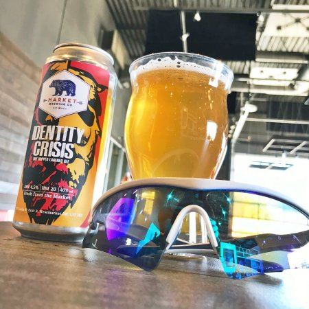 Market Brewing Releases Identity Crisis Dry Hopped Lagered Ale