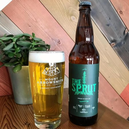 Mount Arrowsmith Brewing Releases The Sprut Spruce Tip Brut IPA