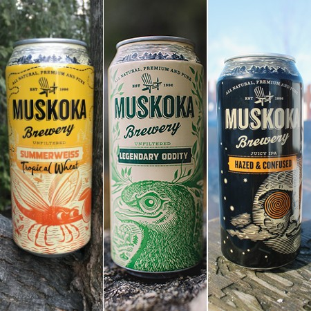 Muskoka Brewery Brings Back Three Seasonals for Spring & Summer