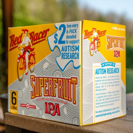 Central City Brewers Releasing Red Racer Superfruit IPA For Autism