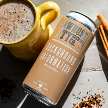 Sawdust City Brewing Releasing Background Information Chai Latte Brown Ale