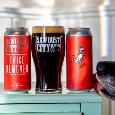 Sawdust City Brewing Releasing Twice Removed Oatmeal Brown Ale