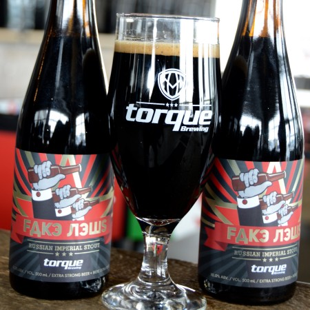 Torque Brewing Releasing 2019 Vintage & 2018 Barrel-Aged Edition of Fake News Russian Imperial Stout