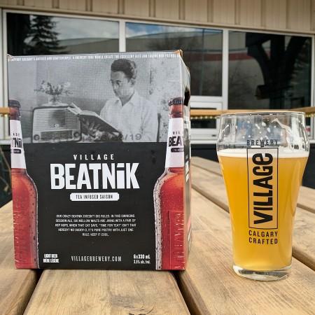 Village Brewery Releases Village Beatnik Tea Infused Saison