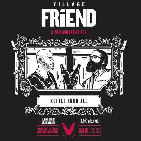 Village Brewery & Siding 14 Brewing Releasing 2019 Edition of Village Friend