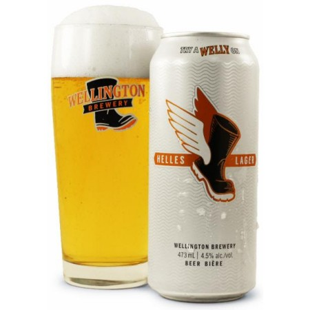 Wellington Brewery Helles Lager Now Available at LCBO