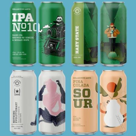 Collective Arts Brewing Announces Releases for Spring 2019