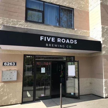 Five Roads Brewing Now Open in Langley