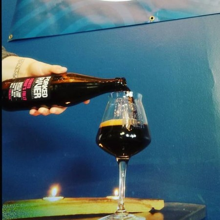 Forked River Brewing and Folly Brewing Release Forked Monk's Folly Sour Belgian Stout