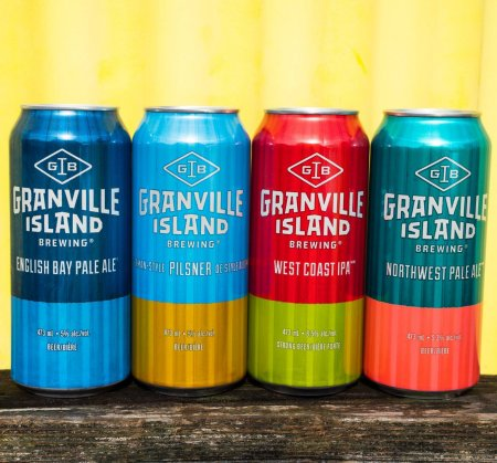 Granville Island Brewing Launches New Beers & Updated Branding