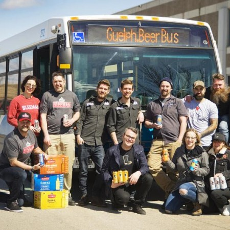Guelph Breweries Announce Monthly Guelph.Beer Bus Tours