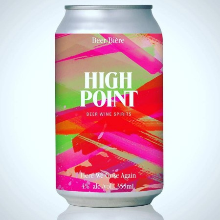 Strathcona Beer Company and High Point Liquor Store Release Here We Gose Again