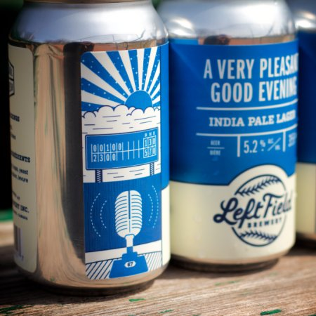 Left Field Brewery Releases A Very Pleasant Good Evening India Pale Lager