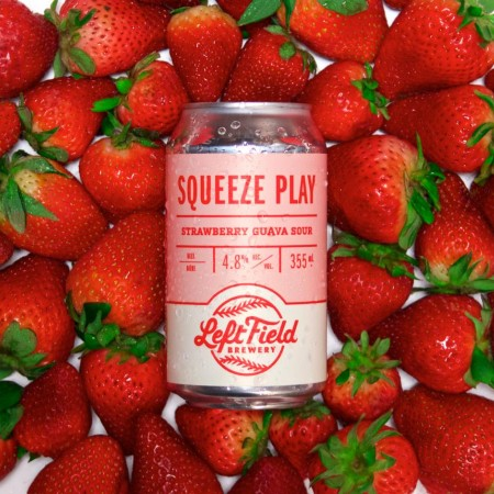 Left Field Brewery Releases Squeeze Play Strawberry Guava Sour