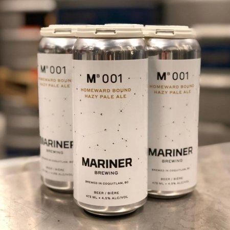 Mariner Brewing Releases Homeward Bound Hazy Pale Ale