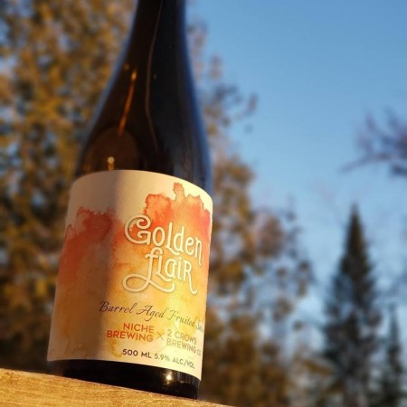 Niche Brewing and 2 Crows Brewing Bring Back Golden Flair Saison
