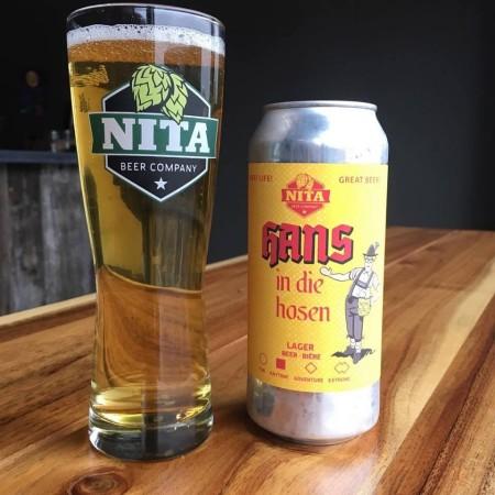 Nita Beer Company Releases Hans In Die Hosen Lager