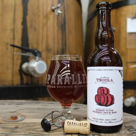 Parallel 49 Brewing Cork & Cage Series Continues with Troika Wine Barrel Sour