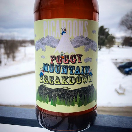 Picaroons Traditional Ales Brings Back Foggy Mountain Breakdown White IPA