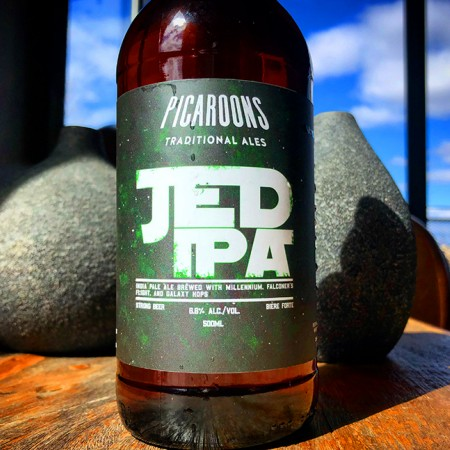 Picaroons Traditional Ales Releases JED IPA
