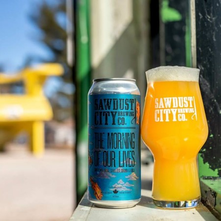 Sawdust City Brewing and Fairweather Brewing Releasing The Morning of Our Lives Sour IPA
