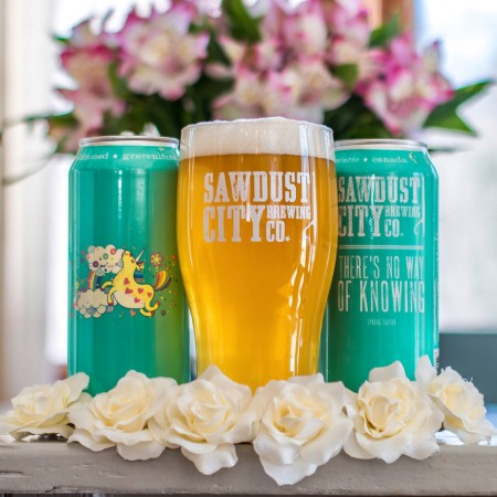 Sawdust City Brewing Brings Back There's No Way of Knowing Spring Saison