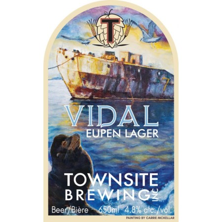 Townsite Brewing Hulks Series Continues with Vidal Eupen Lager