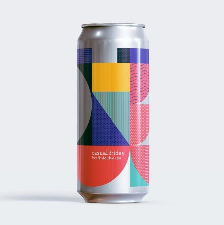 Twin Sails Brewing and Steel & Oak Brewing Release Casual Friday Double IPA