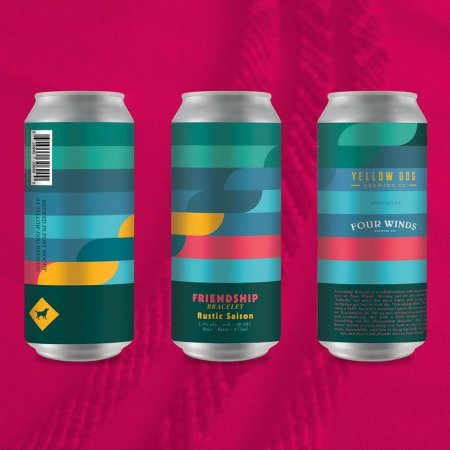 Yellow Dog Brewing and Four Winds Brewing Releasing Friendship Bracelet Rustic Saison