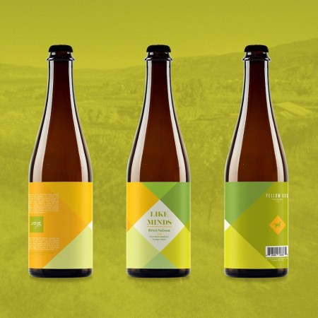 Yellow Dog Brewing and JoieFarm Winery Releasing Like Minds Brett Saison