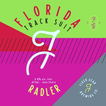 Fixed Gear Brewing Releases Florida Track Suit Radler