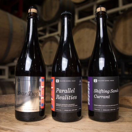 Halcyon Barrel House Releasing Three Beers for 2nd Anniversary
