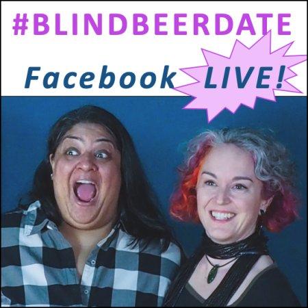 "Hot Plate Podcast Recording ""Blind Beer Date"" Episode on Facebook Live"