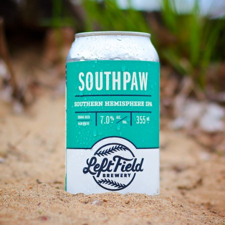 Left Field Brewery Releases Southpaw Southern Hemisphere IPA