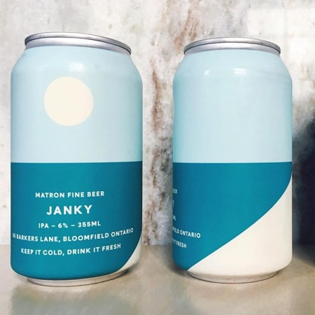 Matron Fine Beer Janky IPA Now Available in Cans