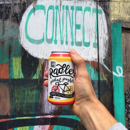 Off The Rail Brewing Releases Pedal Pusher Radler and Cow Tipper Milkshake IPA
