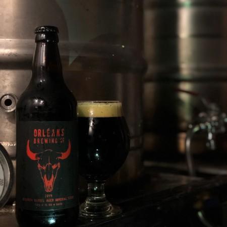 Orléans Brewing Releases Black Hop Down Bourbon Barrel Aged Imperial Stout