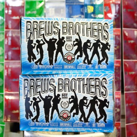 Parallel 49 Releases Brews Brothers Vol. 5 Collaboration Mixer Pack