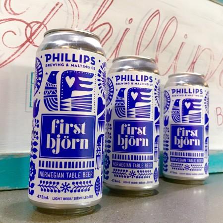 Phillips Brewing Releases First Bjorn Norwegian Table Beer